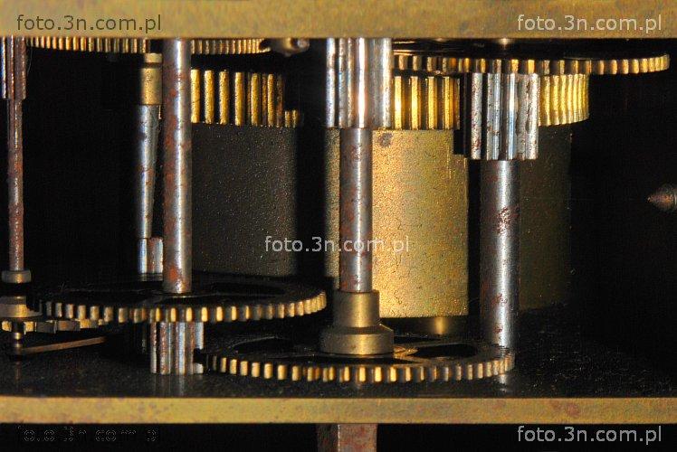 Niesamowite Mechanizm zegarowy (mechanizm, mechanizm zegarowy, tryb, zębatka OU39